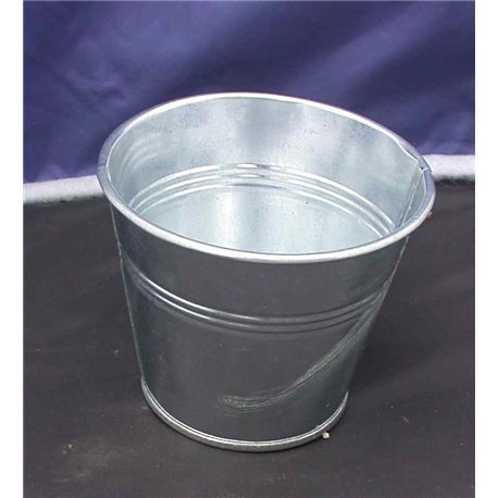 Galvanised bucket 9cm