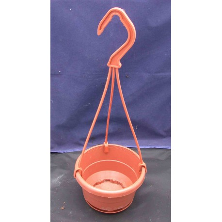 hanging pot10cm (4.5 inch) with hanger