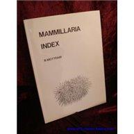 Mammillaria Index Signed